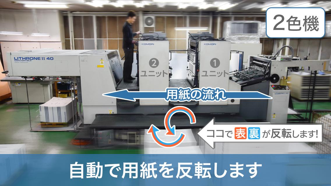 2色印刷機 204号機